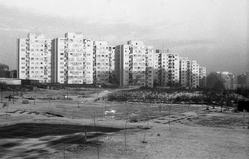 Cluj Napoca - Cartierul Manastur 2002